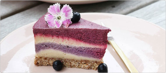 Superfood Recipe: Berry & Beetroot Cheesecake