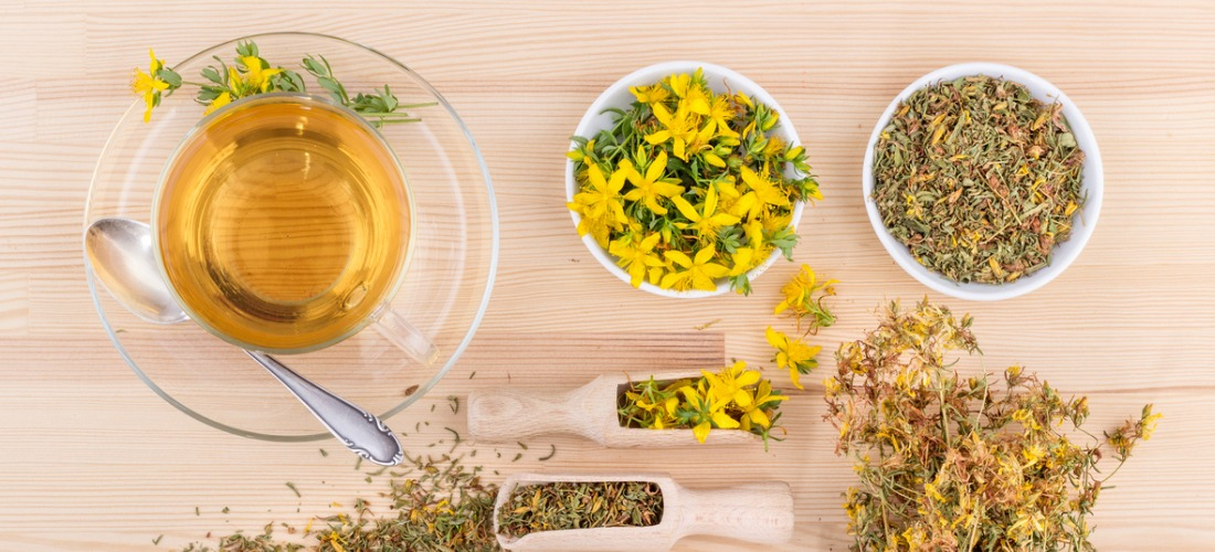 st johns wort tea