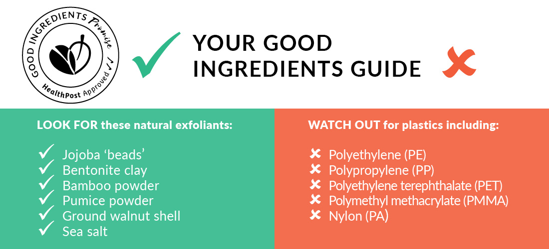 Your Good Ingredients Guide - Plastic Mircobead Free